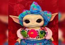 Baby Yoda Tacos de Canasta