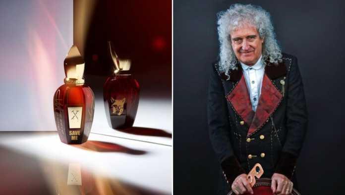 Brian May, guitarrista de Queen, lanza perfume