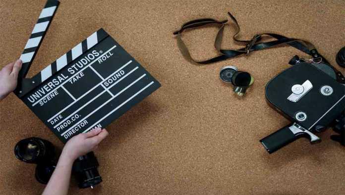 Claqueta para granar película