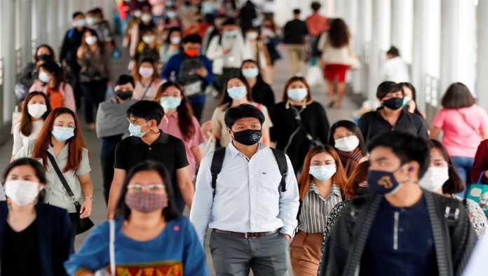Imagen de la pandemia en Tailandia