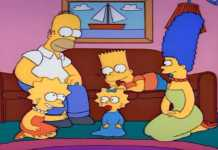Los Simpsons, creados por David Richardson