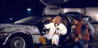 El DeLorean de Volver al Futuro
