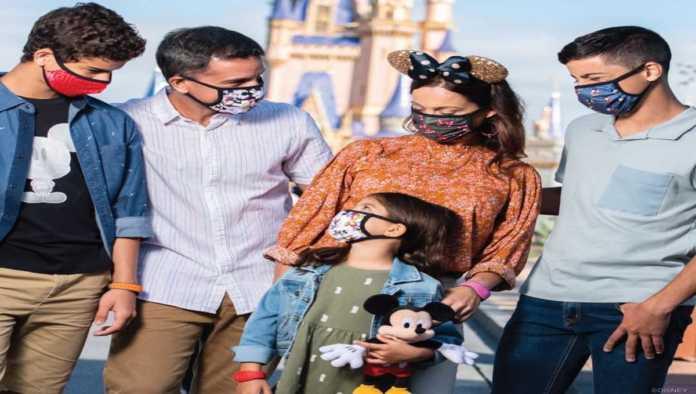 Fotografía de un parque de Disney