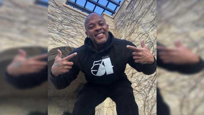 El rapero Dr. Dre