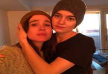 Elliot Page y Emma Portner