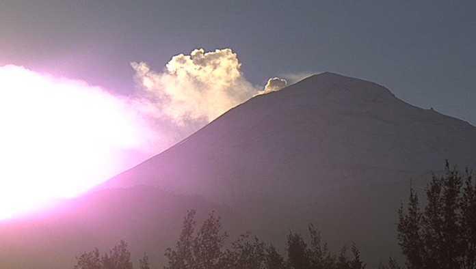 Las imágenes de la intensa actividad del Popocatépetl
