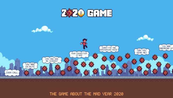 """""""2020 Game""""; el videojuego gratuito para huir del COVID-19"""