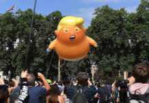 Globo del bebé Trump
