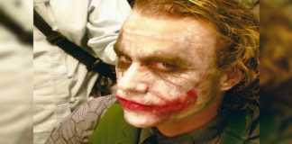 Heath Ledger como el Guasón en Batman