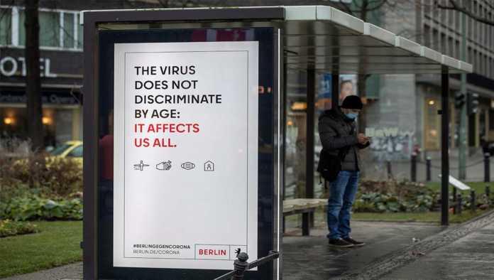 Anuncio sobre la pandemia