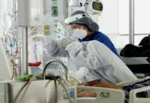 Paciente en tratamiento contra COVID-19