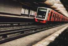 Tren del Metro de la CDMX