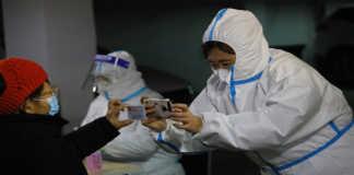 Prueba rápida de COVID-19 en China