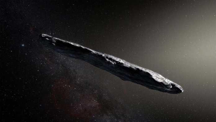Oumuamua, asteroide observado por la NASA