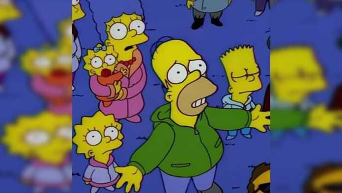 Captura de Los Simpsons