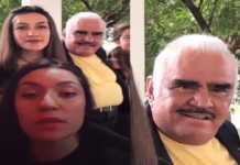 Video donde Vicente Fernández toca a una fan