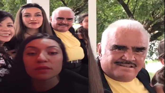 Disculpa de Vicente Fernández