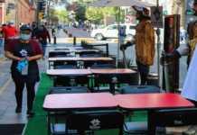 Uno de los restaurantes abiertos en CDMX