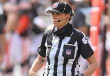 Sarah Thomas, oficial de la NFL
