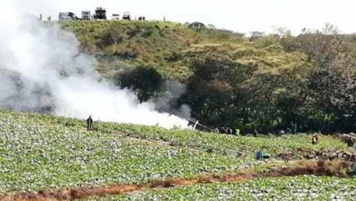 Aeronave del Ejército sufre accidente en Veracruz