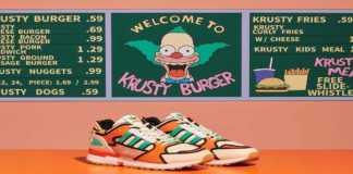 Adidas edición especial de Los Simpsons