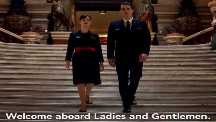 Air France presume cultura francesa en nuevo video de seguridad a bordo