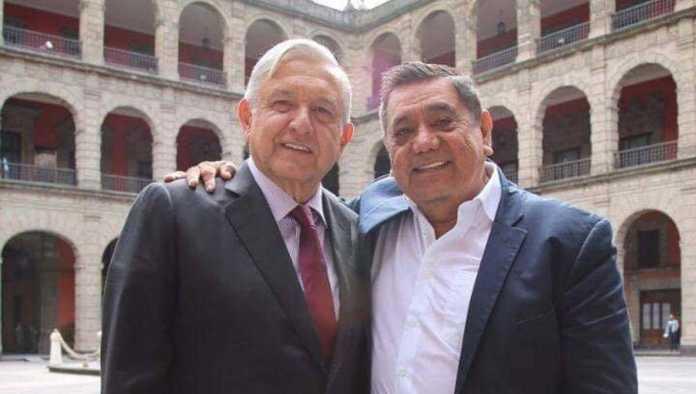 AMLO y Félix Salgado Macedonio