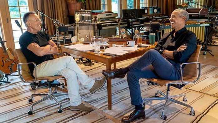 Barack Obama y Bruce Springsteen lanzan podcast