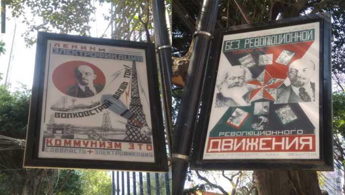 ¡Ya llegaron los soviéticos! Se quejan por carteles en CDMX tras llegada de Sputnik V