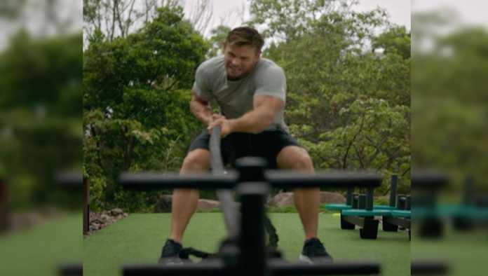 "Así entrena Chris Hemsworth para ""Thor: Love and Thunder"""