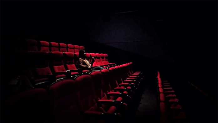 Sala de cine vacías