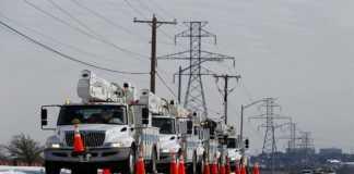 Reparan cortes de energía eléctrica