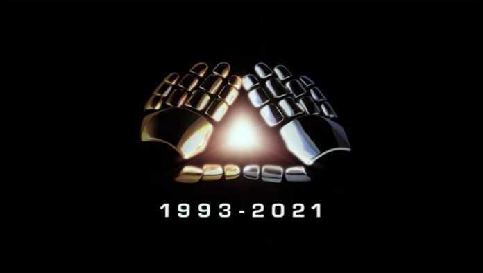 Logo de despedida de Daft Punk