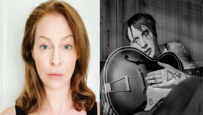 Esme Bianco y Marilyn Manson