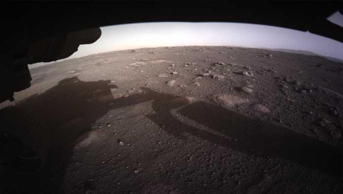 Foto tomada en Marte