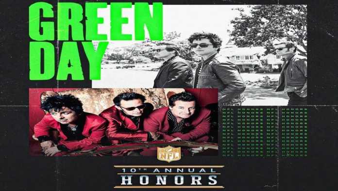 Green Day ofrecerá concierto antes del Super Bowl LV