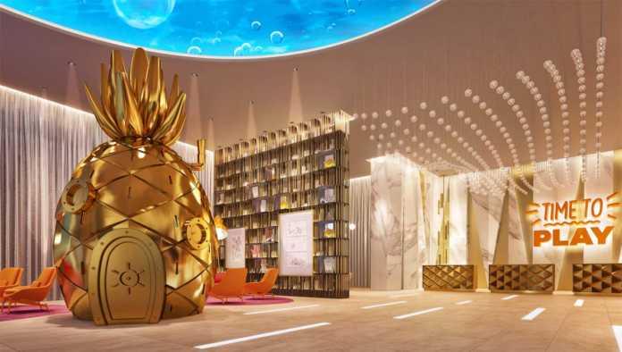 Lobby del Hotel Nickelodeon
