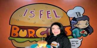 Isfel Burgers de Violeta Isfel