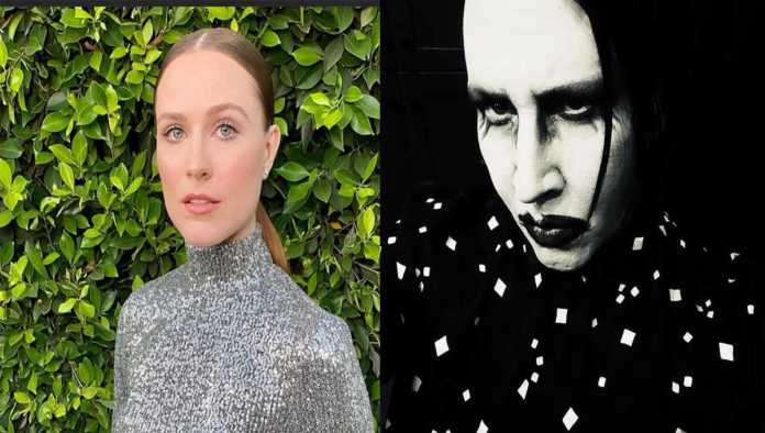 Evan Rachel Wood denuncia a Marilyn Manson por abuso sexual, físico y psicológico