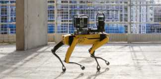 Perro robot de Boston Dynamics