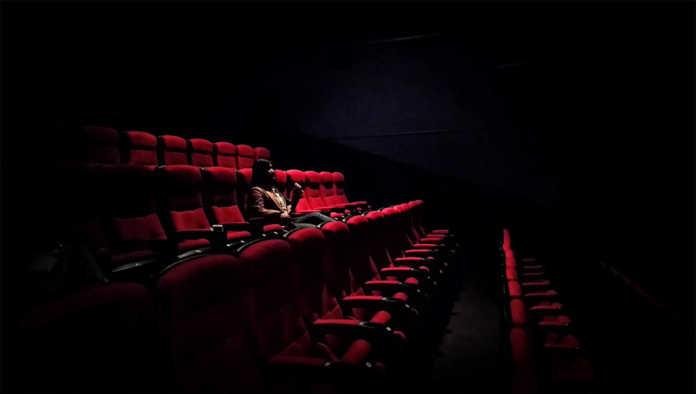 Uno de los cines vacíos por la pandemia de Covid-19