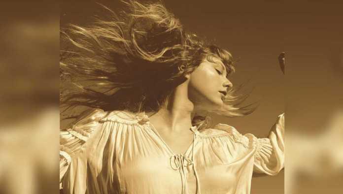 Portada de Fearless de Taylor Swift