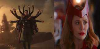 Doctor Strange y Wanda Maxinoff