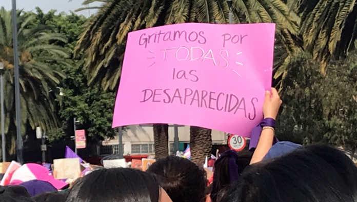 25% de las personas desaparecidas en México son mujeres