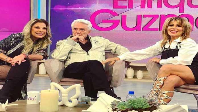Mimí, Enrique Guzmán y Alejandra Guzmán