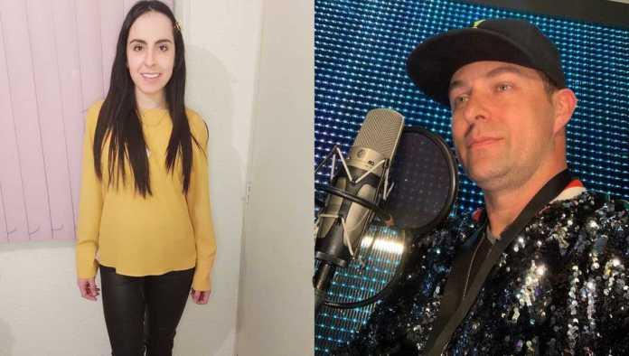 Laura Pons y Arturo Macías
