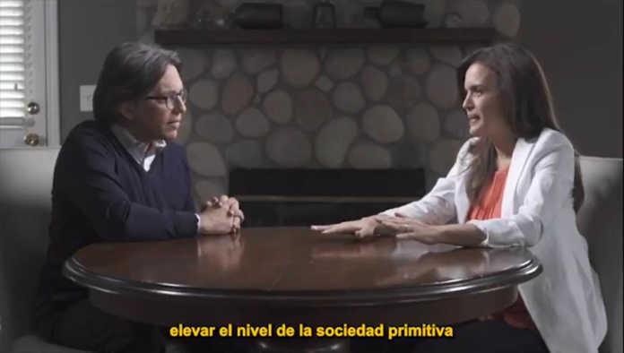 Keith Raniere con Clara Luz Flores
