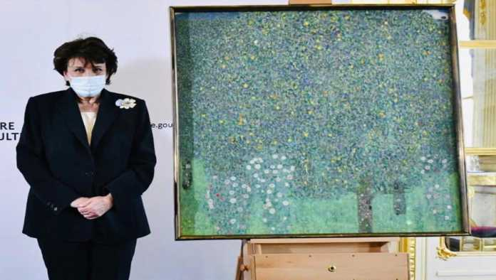 Francia devuelve cuadro de Gustave Klimt