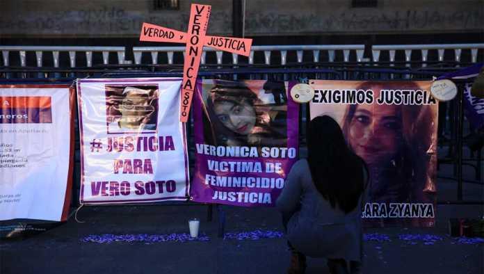 Protesta por la violencia de género en México