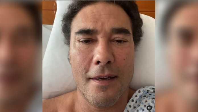 Eduardo Yáñez revela su estado de salud desde la cama del hospital